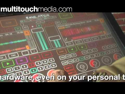 MultiTouch Media- DJ Emulator