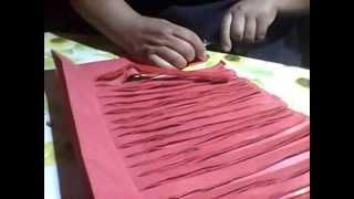 como hacer un plumero facil con papel de volantin