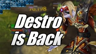 WoW | Day 1 for Destro 7.1 PvP! [Cobrak]