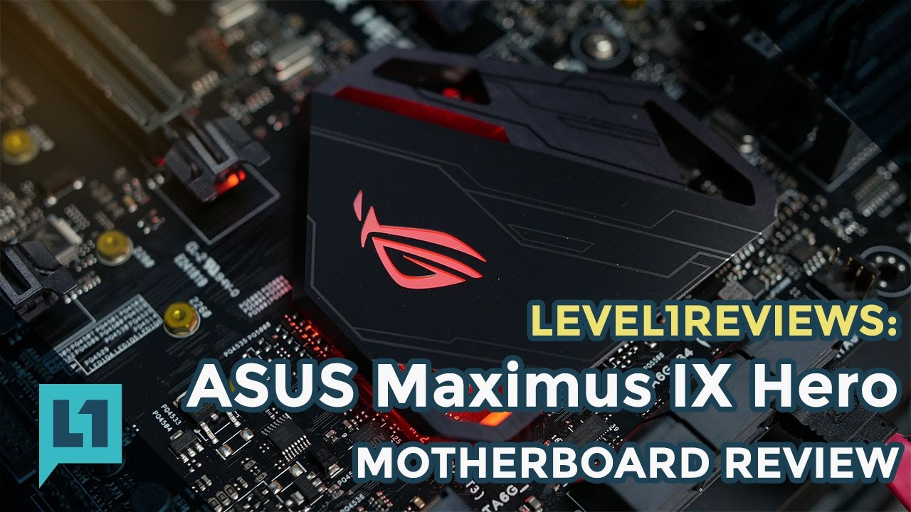 Asus Maximus Ix Hero - Z270 For Kaby Lake I7 7700k