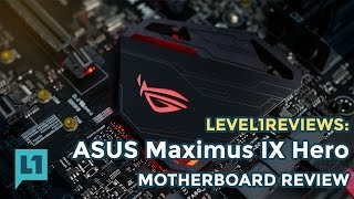 asus Maximus IX Hero - i7 7700k Kaby Lake Build