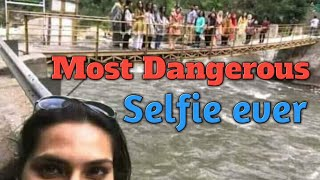 Worlds Most Dangerous Selfie ever | Neelum Bridge Incident 13/05/2018 | RIP Guyz