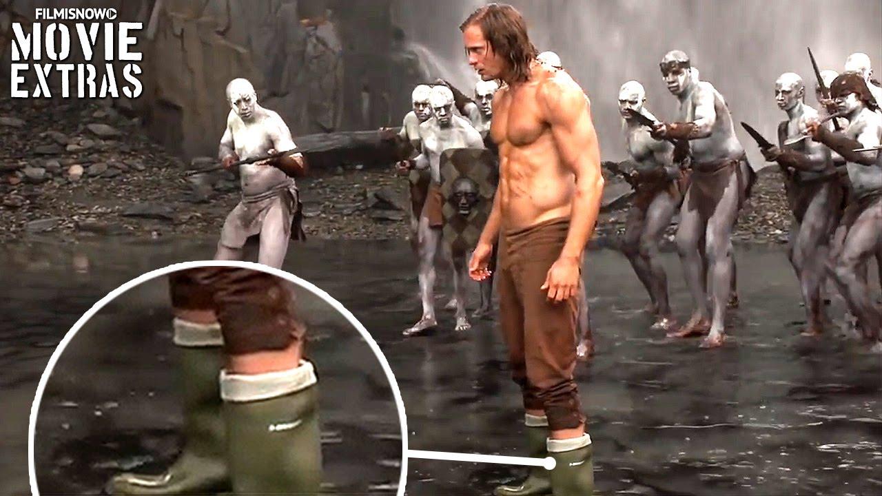 Go Behind The Scenes Of The Legend Of Tarzan 2016 Youtube