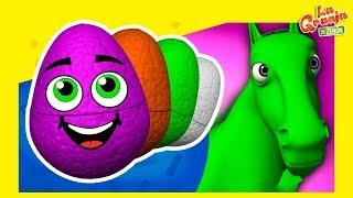 Huevos Sorpresa de Colores de La Granja de Zenón #3 | La Granja de Zenón