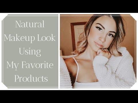 Natural Makeup Using Products I LOVE thumbnail