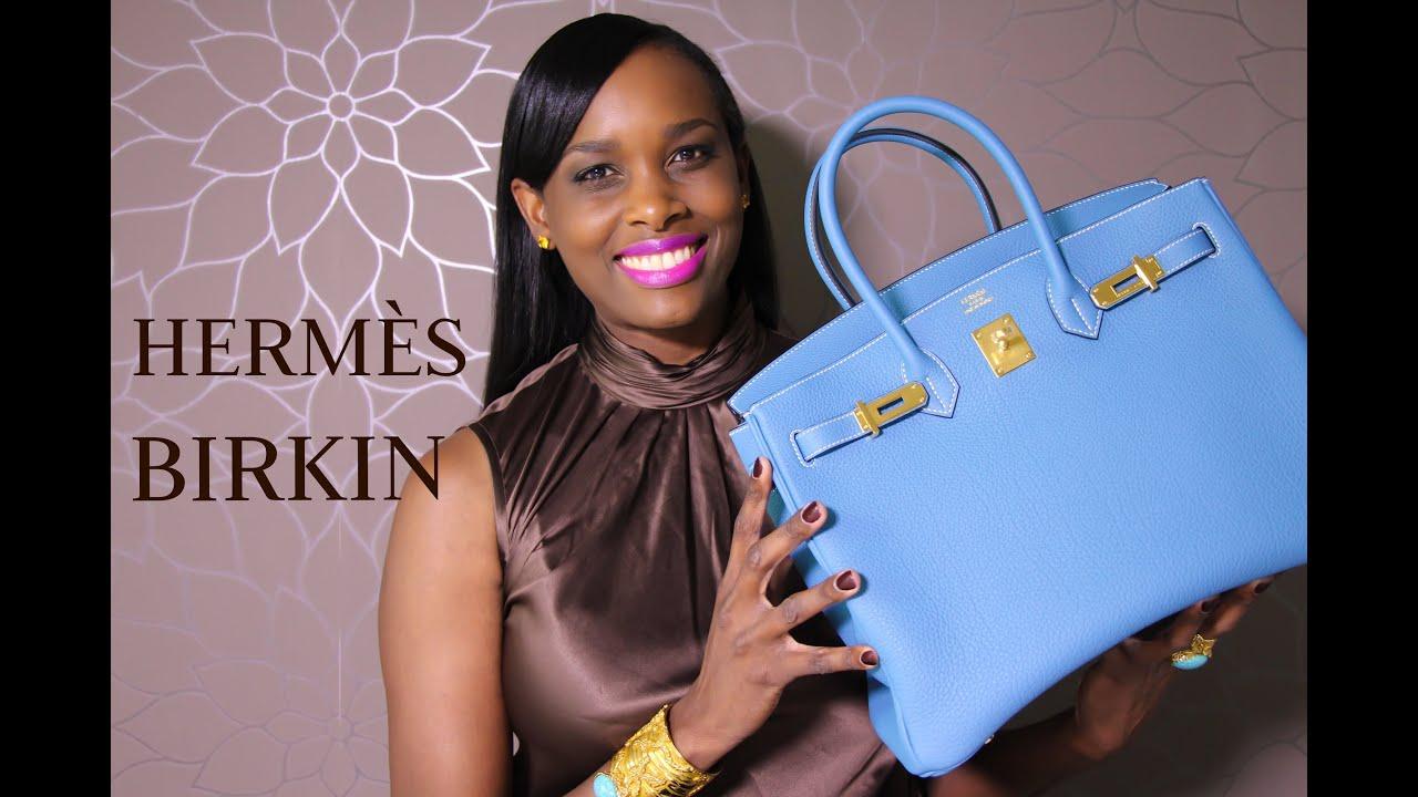 faux ostrich hermes handbags - New!! Herm��s Birkin Bag Unboxing - YouTube