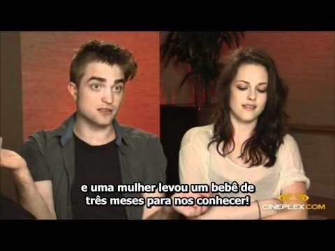 Entrevista completa de Kristen Stewart e Robert Pattinson para o Cineplex - Legendado