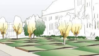 Laird Bell Quadrangle Garden: Kettlekamp & Kettlekamp Landscape Architecture