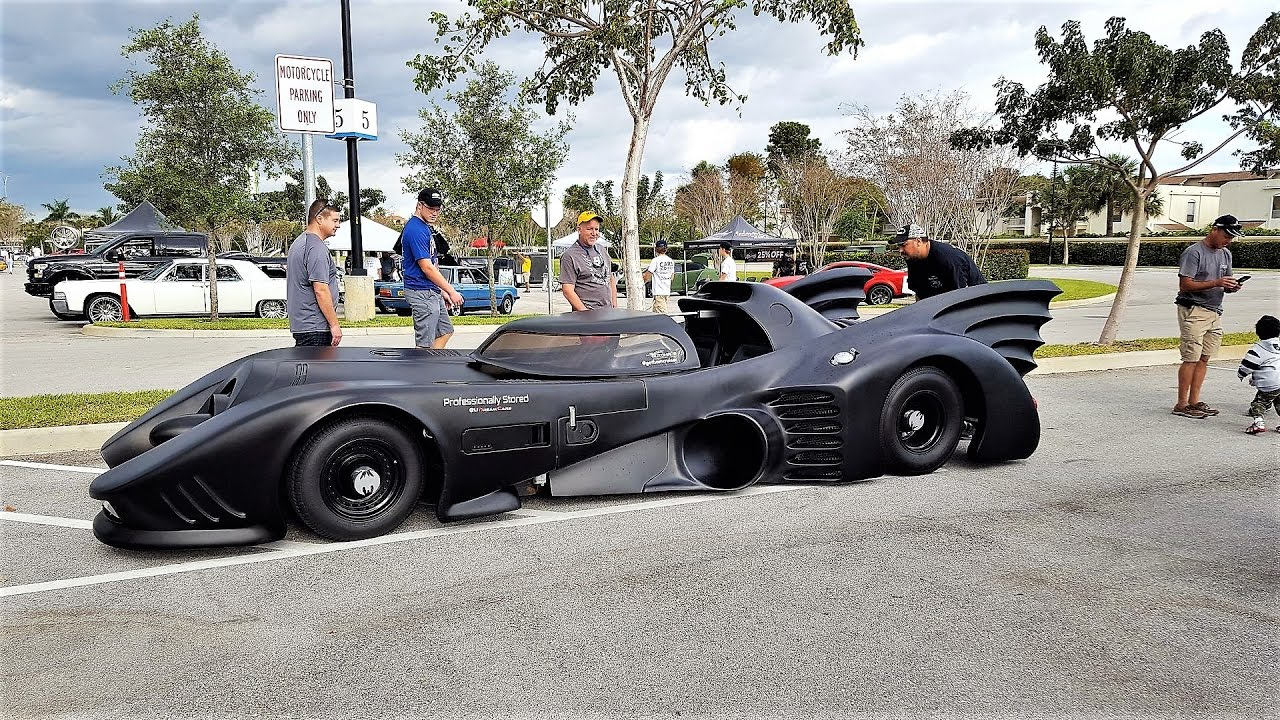 Street Legal Batmobile Drive By Man Spends 3 Years Building Incredible Car Cars Coffee Palm Beach