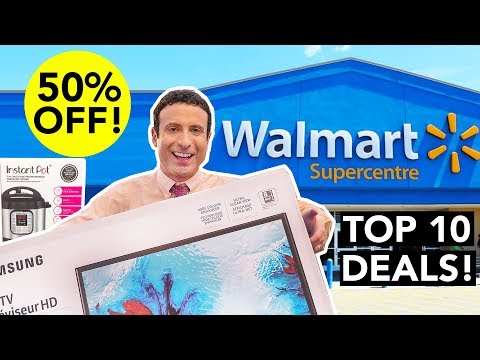 Top 10 Walmart Black Friday 2018 Deals