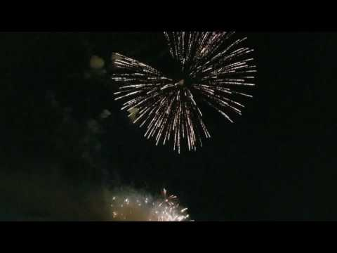 2017 Fourth of July fireworks over Lewiston-Auburn