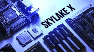 Our FIRST Intel Skylake-X PC Build Guide!