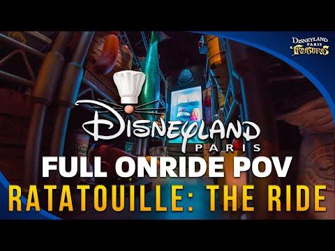 Disneyland Paris RATATOUILLE: The Adventure FULL Ride (HD POV) On-Ride  Ridethrough - Full HD Video