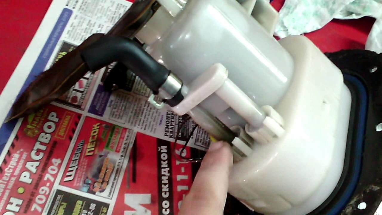Kia Sportage 2 - Замена топливного фильтра.