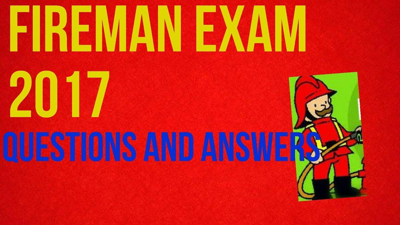 Fireman driver answer key