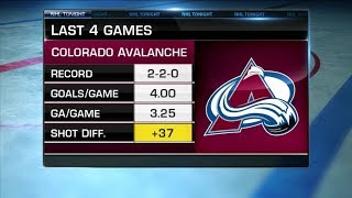 NHL Tonight:  Gardner on Avalanche`s struggles, game against Wild  Jan 23,  2019