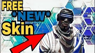 *NEW* FREE SKIN BLUE STRIKER PUTS IN WORK | FORTNITE BATTLE ROYALE