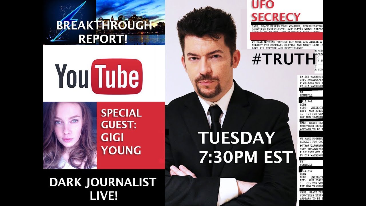 UFO SECRECY MEDIA CENSORSHIP & FALSE LIGHT! DARK JOURNALIST GIGI YOUNG & ALEXANDRA BRUCE