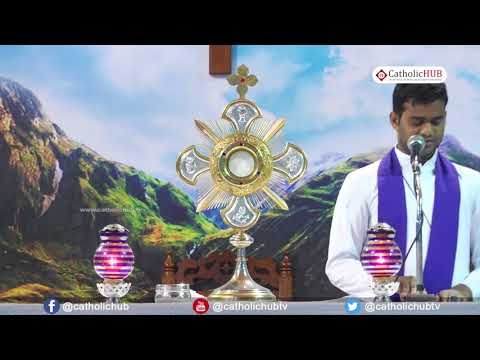Thursday Holy Mass &Adoration @Risen Christ Church,Peravallur,Chennai,TN. 15-03-18
