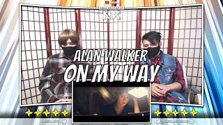 Alan Walker (Sabrina Carpenter & Farruko) - On My Way MV | [ NINJA BROS Reaction / Review ]