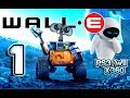Wall-E Walkthrough Part 1 (PS3, X360, Wii) Level 1 ~ Welcome to Earth