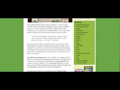 Adding Author Bio's to blogs