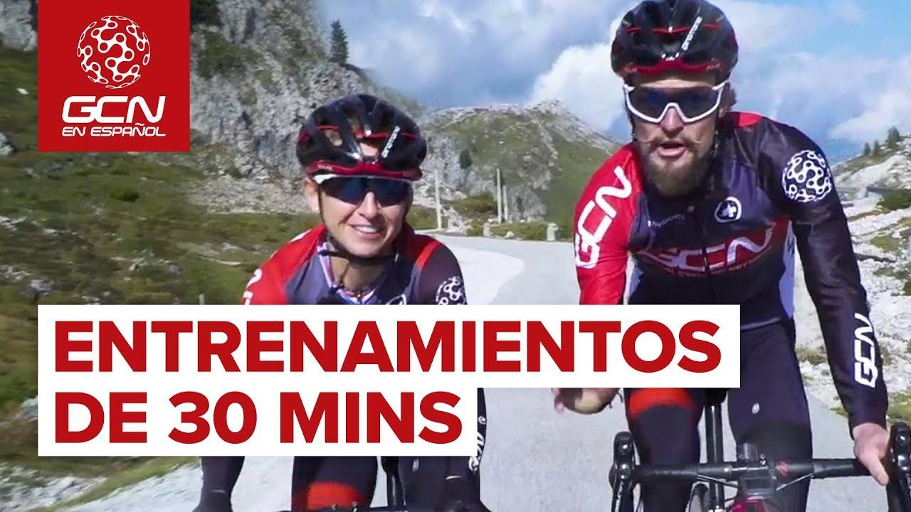 ¿Solo Tenemos Media Hora? ¡Sin Problema! | Entrenamientos De 30 Minutos Para Ciclismo