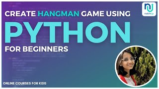 Create A Hangman Game In Python | Tutorial by Our 15 Year Old Student Lavanya 🔥