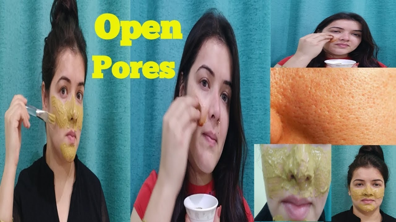 how to get rid of big pores