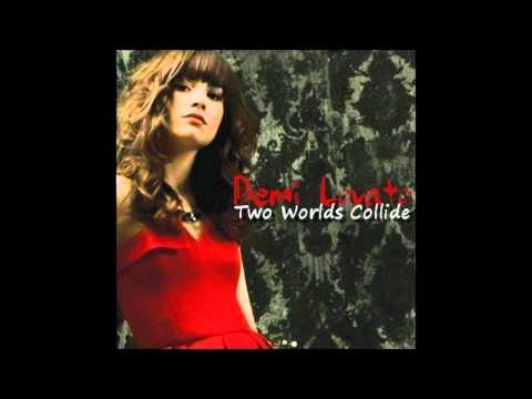 Demi Lovato - Two Worlds Collide Karaoke / Instrumental With Lyrics