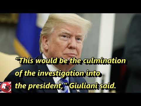 As Trump pressures DOJ, Giuliani says probe may end by Sept