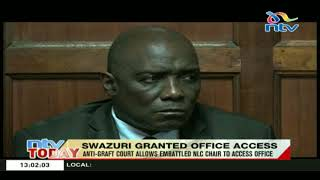 NLC Chair,  Muhammad Swazuri granted office access by the anti-graft court