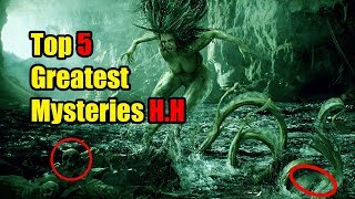Top 5 Greatest Mysteries of Human History | JuleeScare