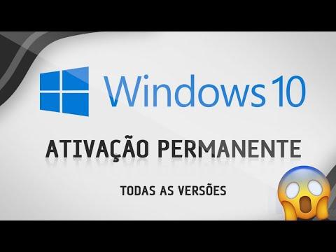 Como Ativar O WINDOWS 10 PERMANENTEMENTE  ( TOTALMENTE ATUALIZADO ) 2019