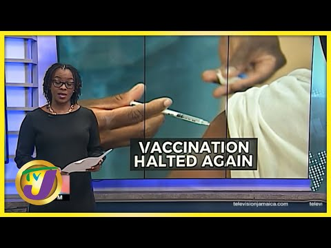 Vaccination Halted Again   Non-Payment of Jamaican Nurses   TVJ News - June 25 2021