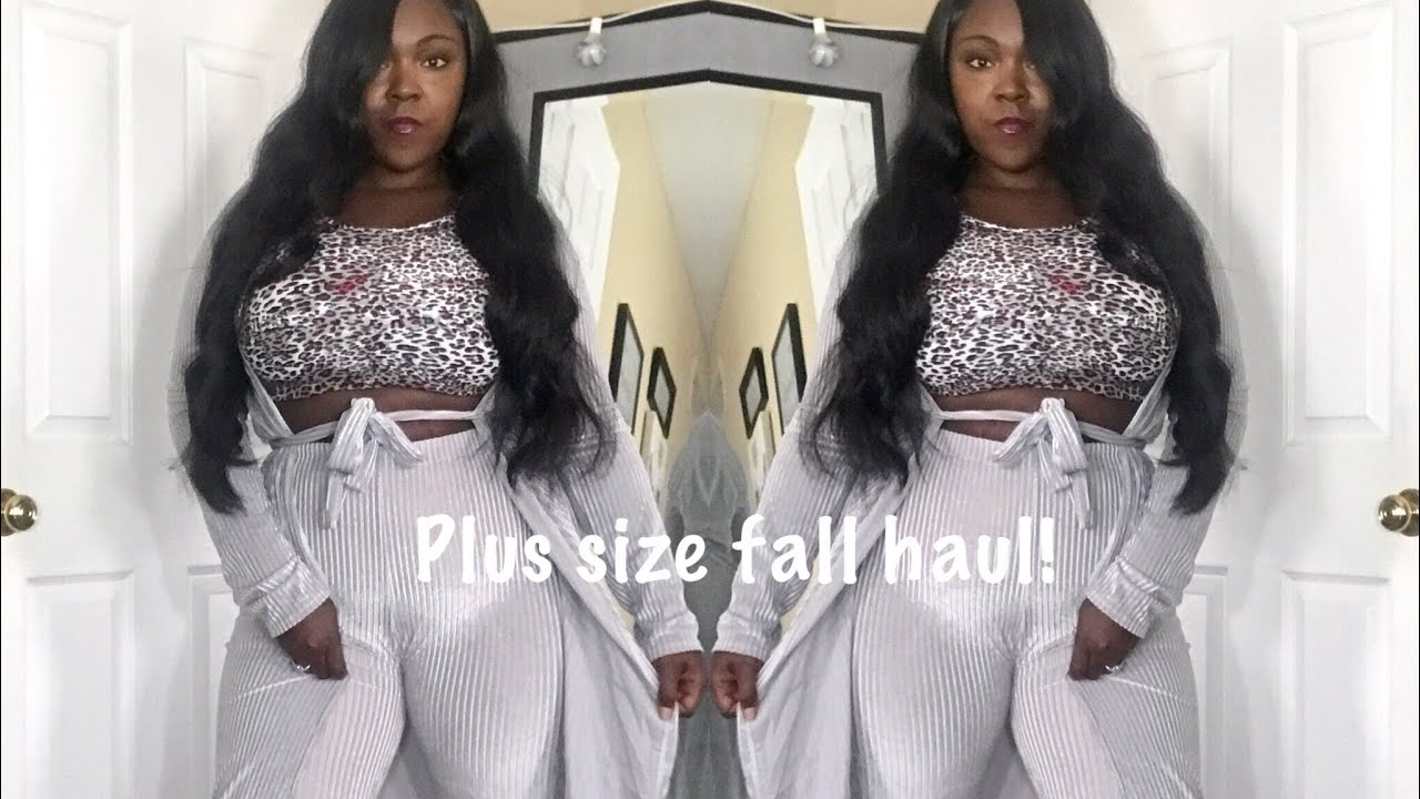 Trending fall haul for less AliExpress plus size/thick girl edition!