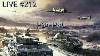 War Thunder Live #212  Ps4-Pro PT_BR