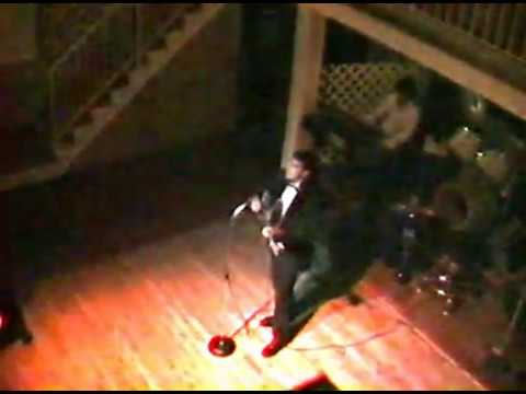 Demetrios Kousathanas in 1992 performing at Athens By Night Clearwater Florida USA