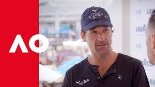 Coffee with a Legend: Carlos Moya Pt. 1 | Australian Open 2019
