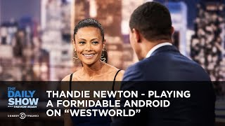Thandie Newton - Playing a Formidable Android on
