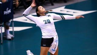Rainbow Wahine Volleyball 2017 - Hawaii Vs Nevada,