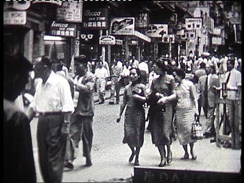 Hong Kong in the fifties