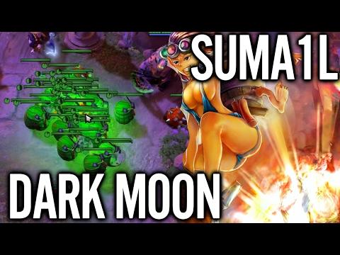Suma1l Techies How Pro Play Dark Moon - Full Gameplay Dota 2 Event