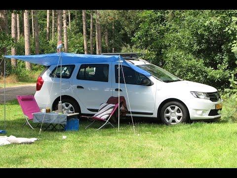 easy bed car un mini camping car en moins de 3 minutes doovi. Black Bedroom Furniture Sets. Home Design Ideas