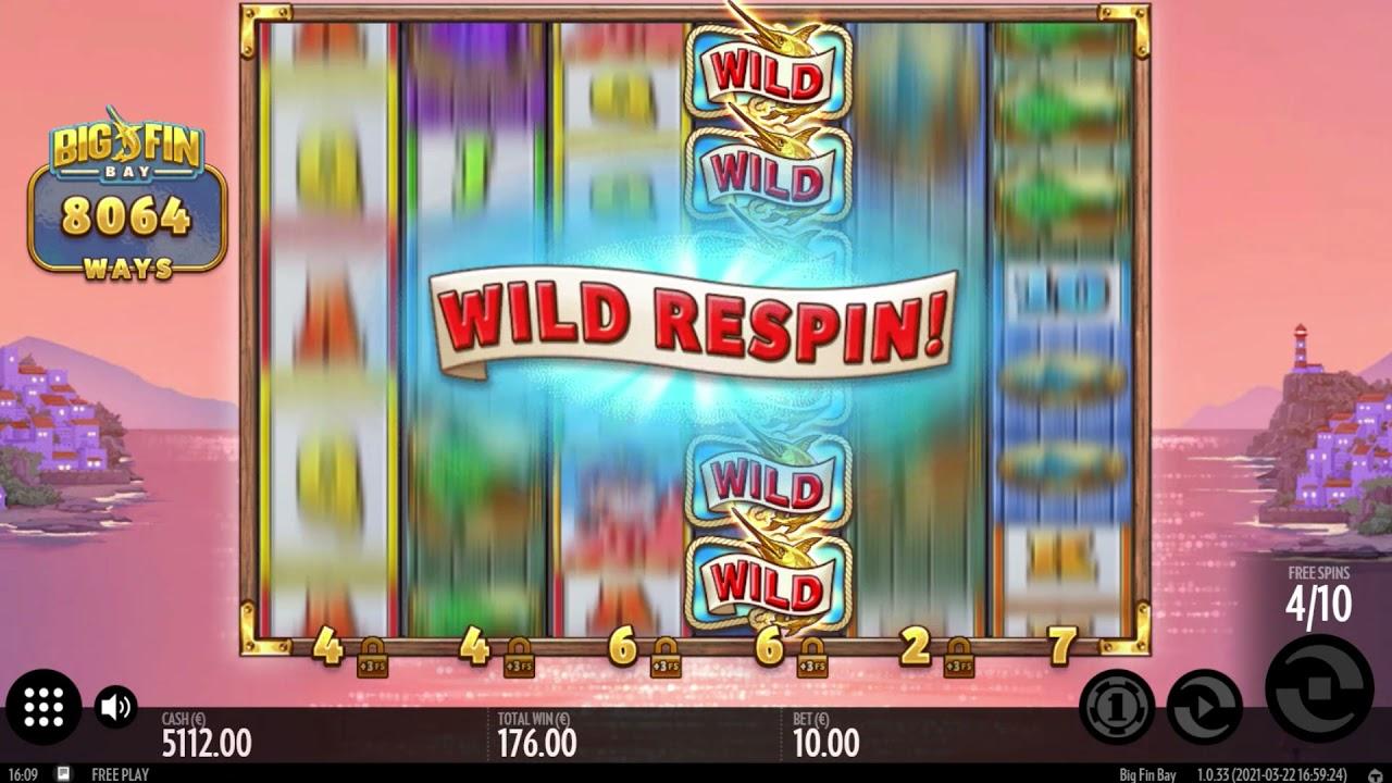 Big Fin Bay  Slot Play Free ▷ RTP 96.1% & High Volatility video preview