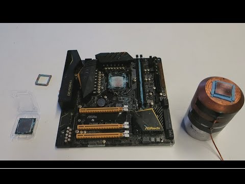 CPU Binning: Overclocking Core I3 7350K To 5.4GHz On Water Cooling