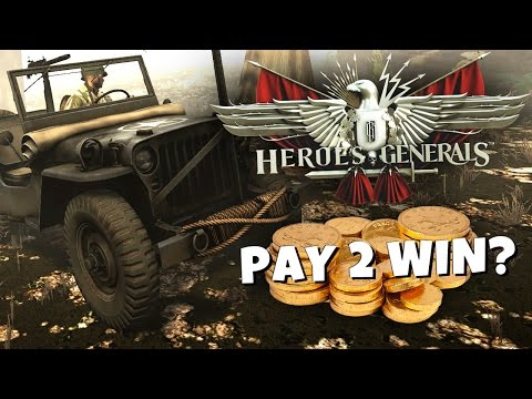 P2W: Heroes and Generals - Is it pay to win?