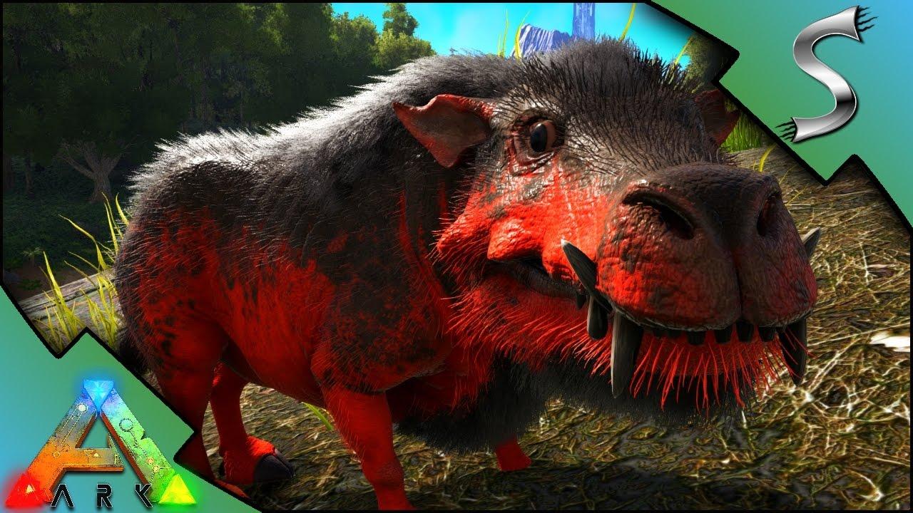 RANDOMLY MUTATED DAEODON! DAEODON BREEDING & HELLPIG IN A CAVE! - Ark:  Survival Evolved [S3E98]