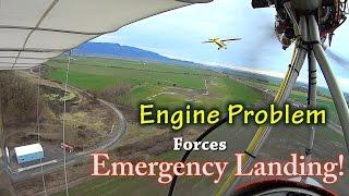 Aircraft Engine Failure - Dead Stick Emergency Landing