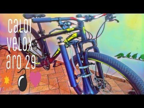 0b14767a7 Caloi velox aro 29 - YouTube